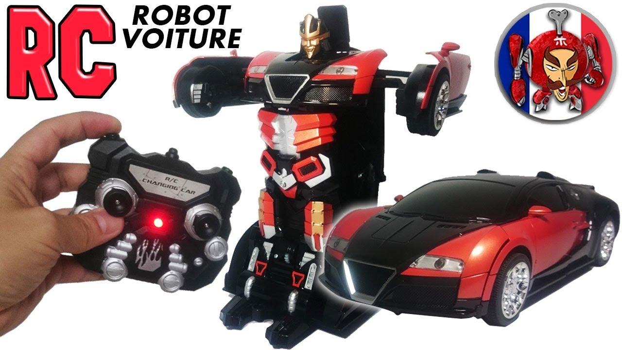 ToysReview Rc Fr Voiture Robottransformablemonsieur Rc dhQrCtsx