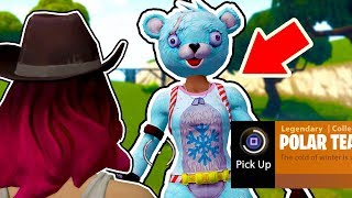 Fortnite how to get the POLAR TEAM LEADER skin... FINALLY!!! (Christmas Team Leader)