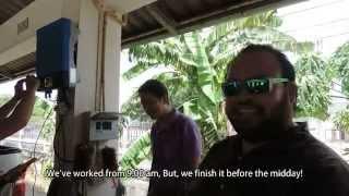 Training of Solar System Installation at Lopburi : ฝึกอบรม การติดตั้งระบบ โซล่าร์เซลล์ @ลพบุรี