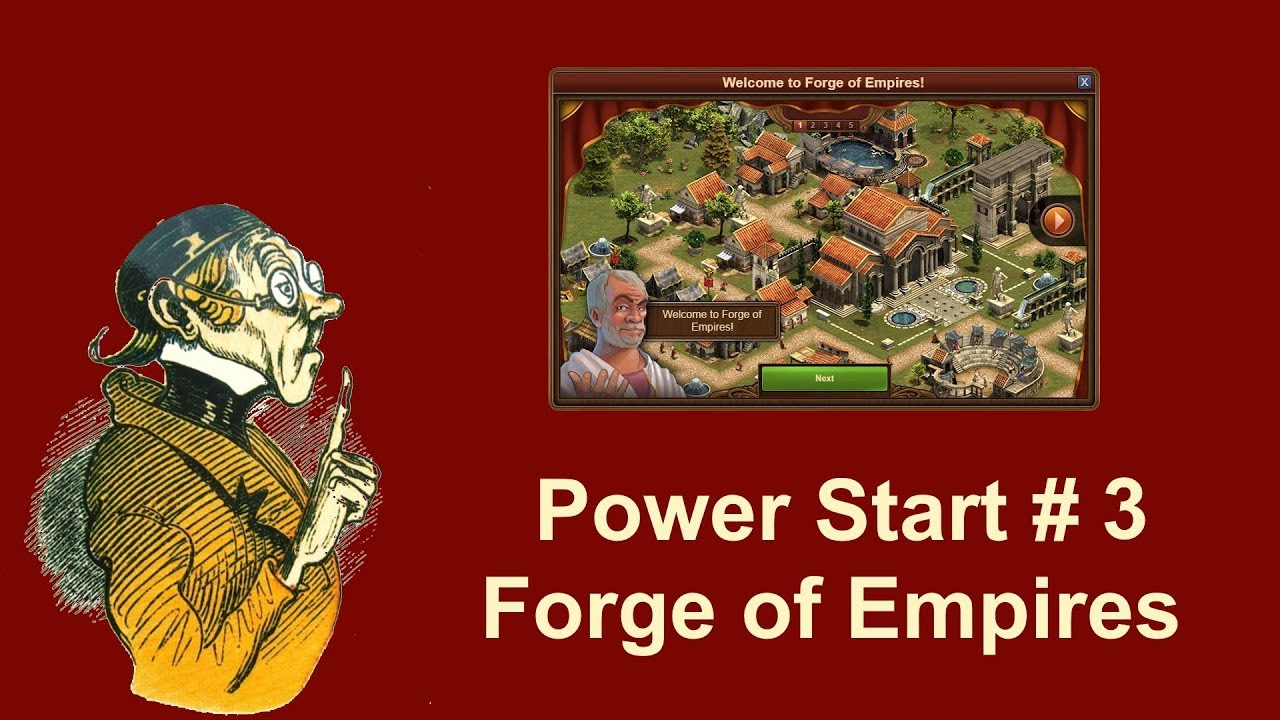Foehints Power Start Episode 3 In Forge Of Empires Youtube