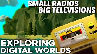Small Radios Big Televisions —Exploring Digital Worlds through Found Cassette Tapes