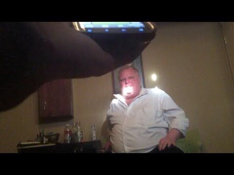 Video shows Rob Ford smoking crack