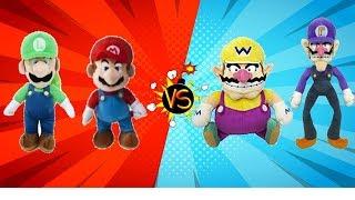 """The Bear Show S5EP6 """"Mario And Luigi VS Wario And Waluigi"""""""