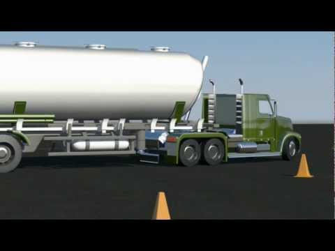 Donald Quinn : 3D semi truck with trailer rig test
