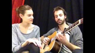 I Won't Give Up - (by Jason Mraz) - Cover By Charlotte Cardin-Goyer And Jael Bird Joseph