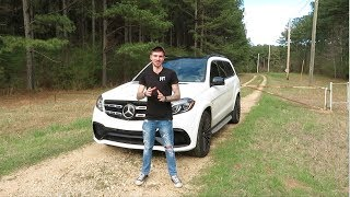 2017 Mercedes Benz GLS 63 AMG Review! Family Beast