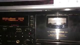 Pioneer duplo deck ct-w504r