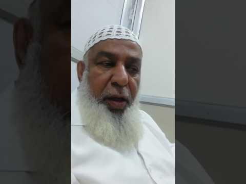 Mr Hussain from dubai Gangrene patient