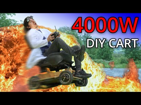 DIY Electric Cart