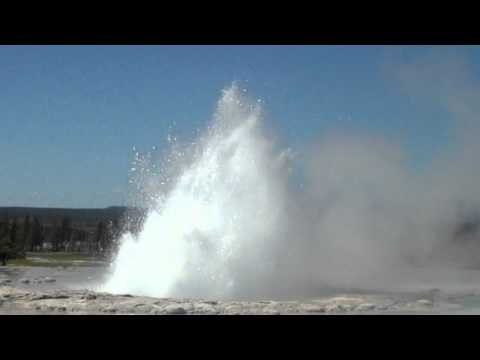 Great Fountain Geyser with White Dome Geyser, Yellowstone National Park