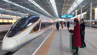 Beijing Winter Olympics: High-speed railway line goes into service
