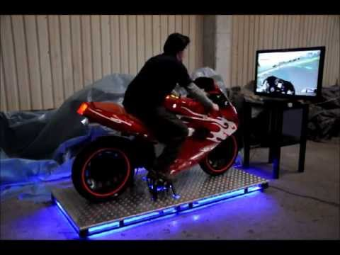 Gaming Pc Chair Toddler Desk And Hkb Real Motorbike Simulator For Ps3 - Youtube