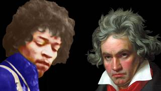 "Jimi & Ludwig van ""The Moonlight Sonata"" Pt 3 by Tone Masseve"