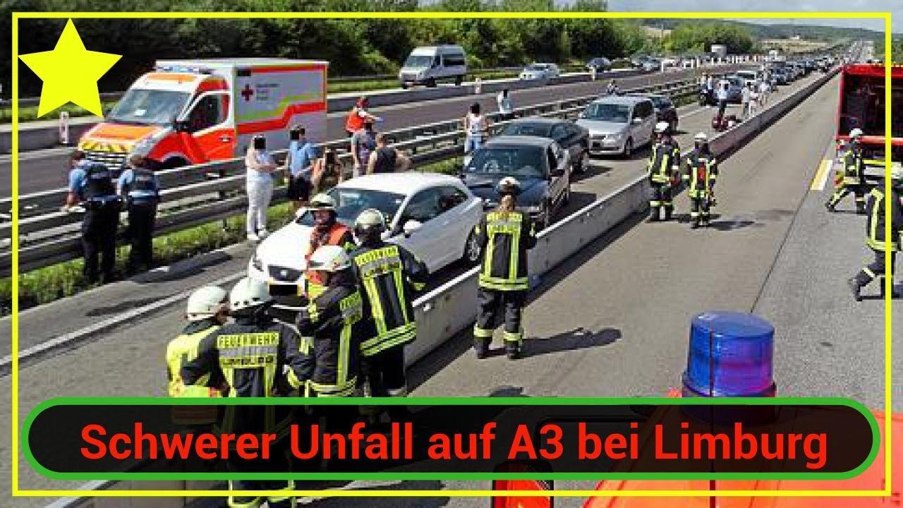 Schwerer Unfall Auf A3 Bei Limburg Retter Werden Von Gaffern