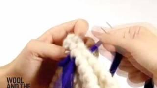 comment coudre le tricot