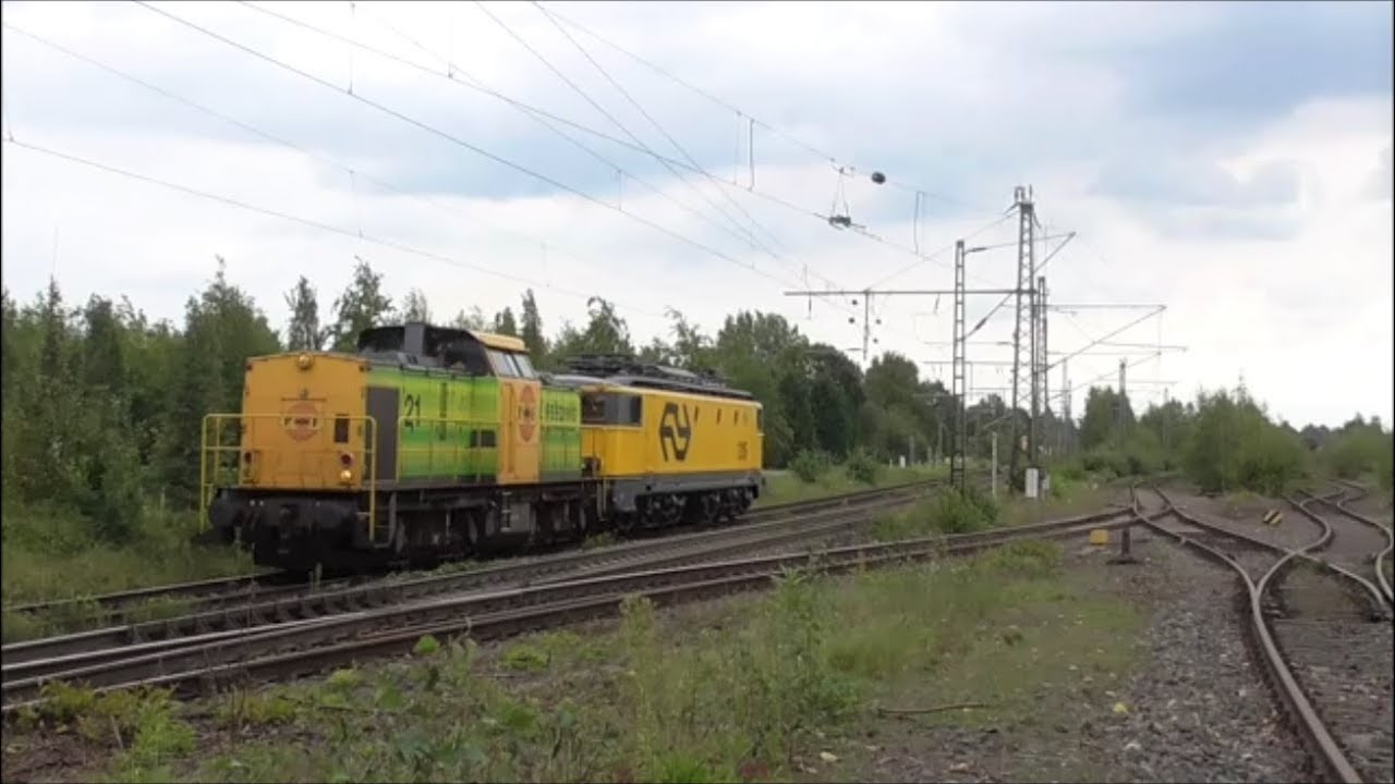 RRF 21 komt met HSL 1315 langs Kaldenkirchen - YouTube