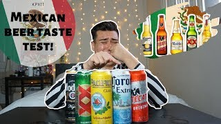 RANKING MEXICAN BEERS! [WHICH ONE IS THE BEST] KPXII