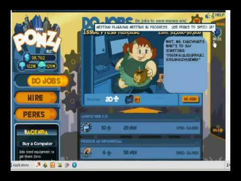Ponzi- Coin + Exp Hack