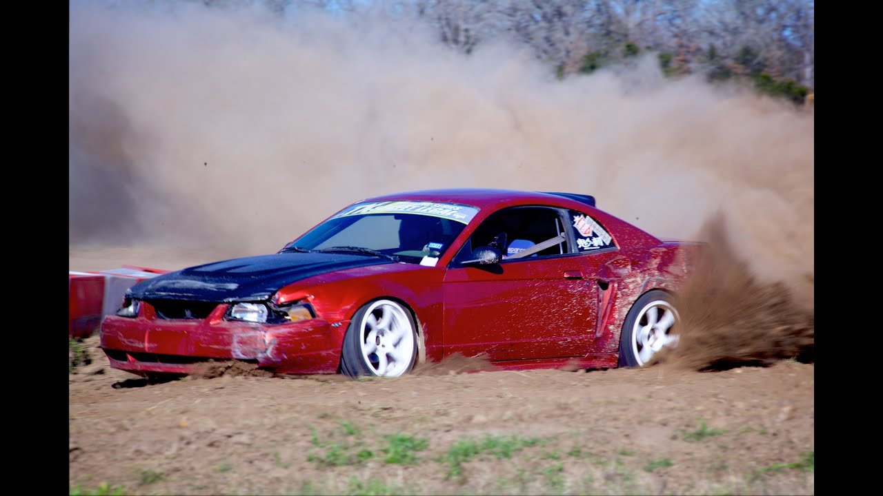 Thrashing A Drift Mustang In The Dirt Youtube