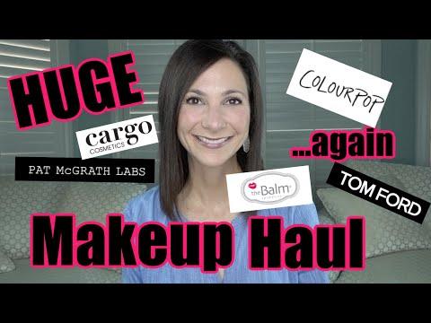 Huge Holiday Makeup Haul!   Makeup and Beauty Over 40!