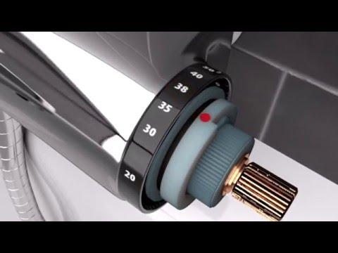 Rubinetto Termostatico Per Doccia.Huber Pulizia Cartuccia Termostatica Argo Youtube