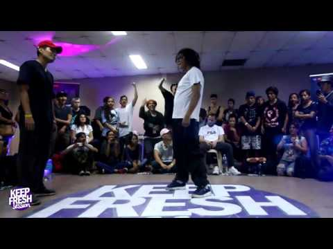 Keep Fresh Session 2017 / Final Hip Hop / Jordan vs. Shaakuy