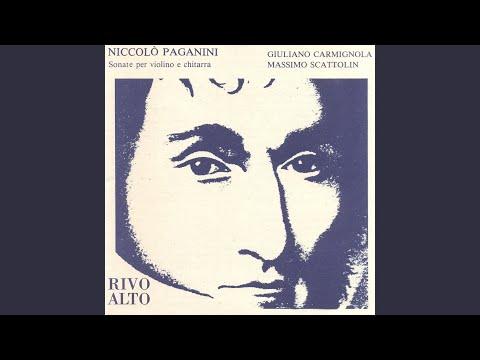 Grande Sonata in A Major, MS 3 per chitarra sola con accompagnamento di violino: I. Allegro...