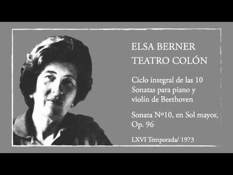 Beethoven - Sonata Nº10, en Sol mayor, Op. 96 para piano y violín