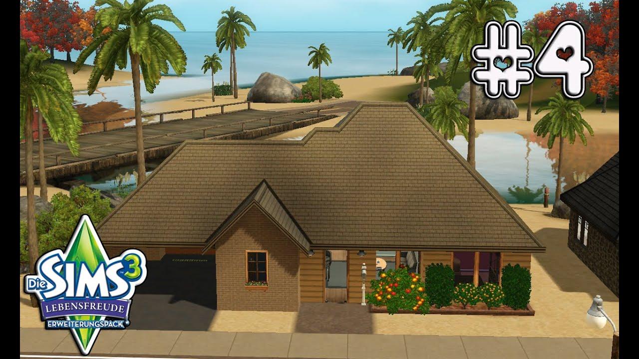 Ein Haus Am Strand Lets Play Die Sims 3 Lebensfreude Part 4