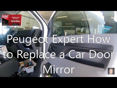 Peugeot Expert (2016–present)  How to Replace a Car Door Mirror
