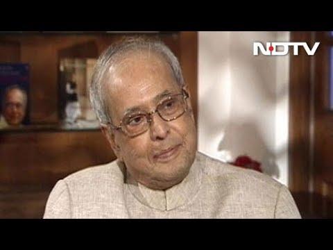 Pranab Mukherjee On Sonia Gandhi's Decision To Not Choose Him As PM