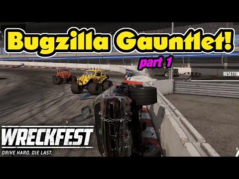 Wreckfest Gauntlet Challenge With Bugzillas! Wreckfest Multiplayer