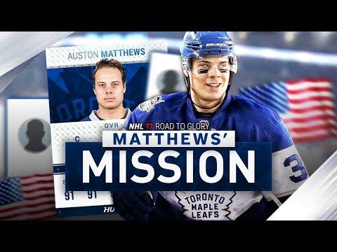 NHL 17 HUT - ROAD TO GLORY   MATTHEWS' MISSION #14