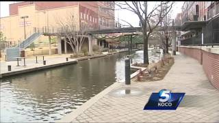 Bricktown canal to be drained, cleaned first time in five years