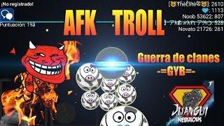 nebulous afk troll ice split s clan war gyb edition funny 200 suscriptores