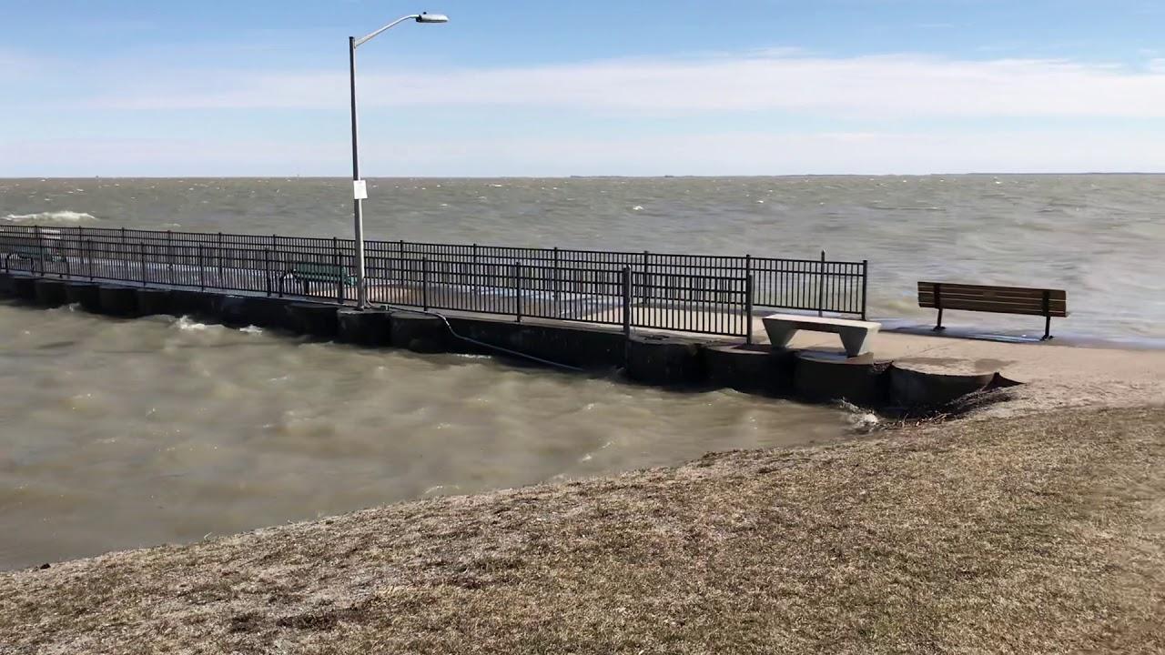 High Water In Luna Pier
