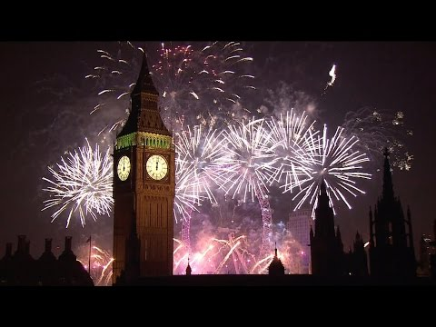 London Fireworks 2015 - New Year's Eve Fireworks - BBC One