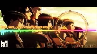 """Shingeki no Kyojin Season 2 Opening """"Shinzou wo Sasageyou!"""" by Linked Horizon"""