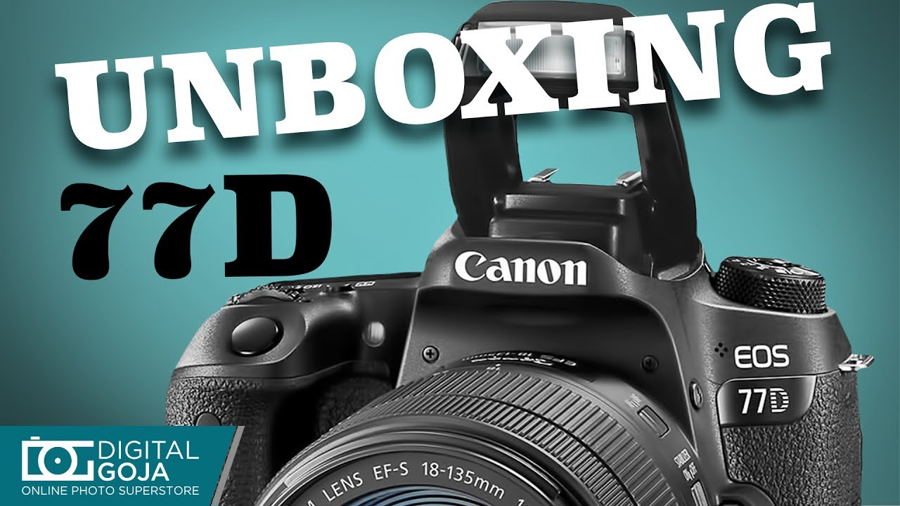 Canon EOS 77D with 18-135mm USM Lens | Unboxing & Overview