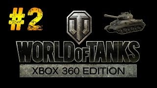 World of Tanks Xbox 360 Edition BETA Gameplay Walkthrough Part 2 - T1 Cunningham Light Tank