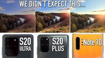 Unbiased S20 Ultra vs S20+ vs Note 10 Camera Comparison!