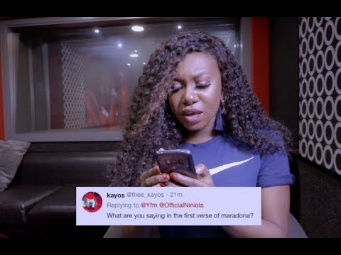 Niniola responds to your social media questions & comments!