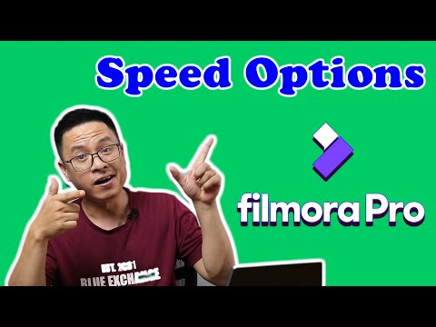 FilmoraPro Speed Control Options: Slow Motion, Fast Forward, Reverse Cli...