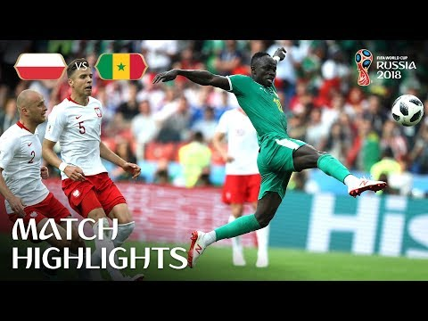 Poland v Senegal - 2018 FIFA World Cup Russia™ - Match 15 video screenshot