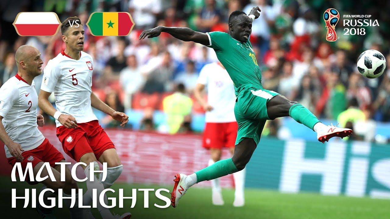 49a5eb2efa8 Poland v Senegal - 2018 FIFA World Cup Russia™ - Match 15 - YouTube