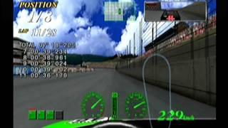 F355 Challenge (Dreamcast) - Round 1: Motegi (GP Distance)