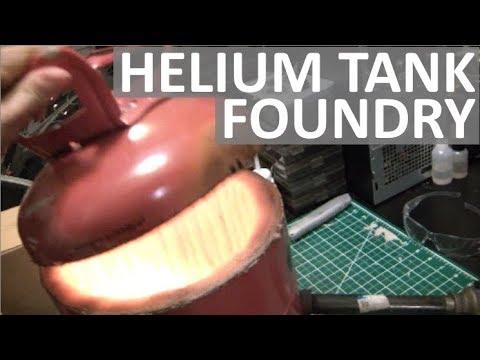 HELIUM TANK FOUNDRY - EASILY MELT METAL AT HOME! - ELEMENTALMAKER