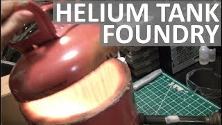 HELIUM TANK FOUNDRY - EASILY MELT METAL AT HOME! - ELEMENTALMA…