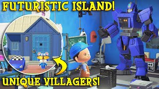 SUPER-SCIENCE & ZERO Time-Travel Island! Tour & Interview | Animal Crossing 5 Star Island Tour