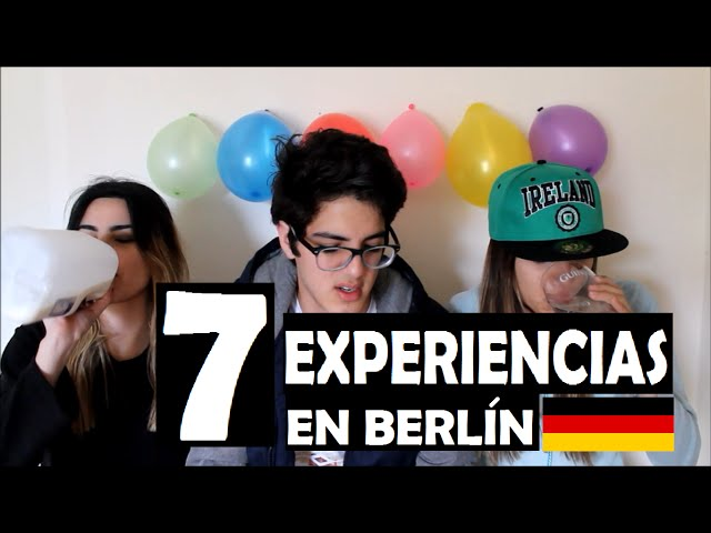 7 EXPERIENCIAS EN BERLÍN | 3SOME VLOGS